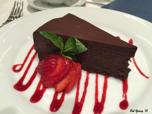 There is a reason they call this Chocolate Sin Cake. Very rich!