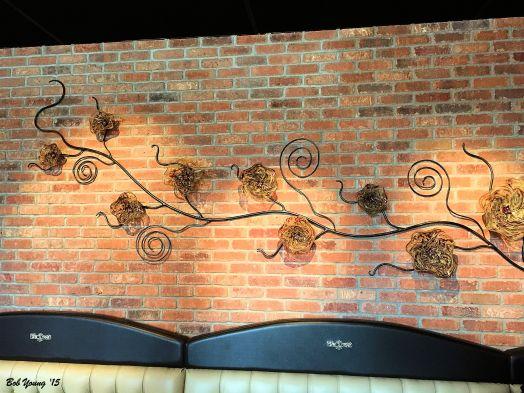 Chuhuli glass art on the wall!