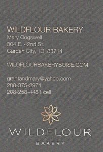 Wildflour Bakery