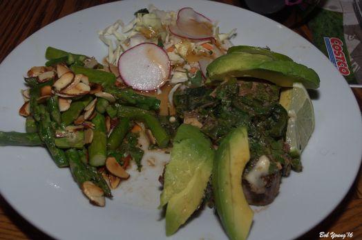 Ahi Tuna with Avocado,