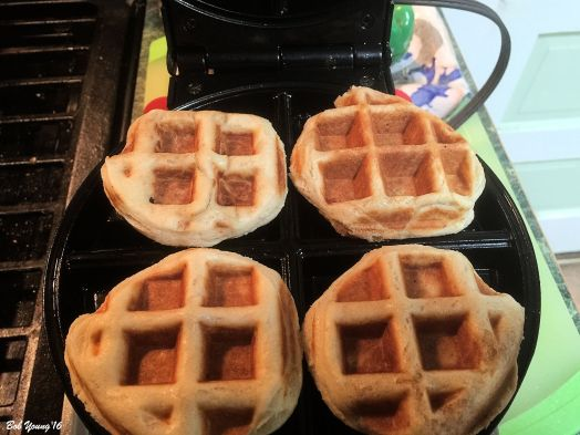 Waffle Biscuits Here is the recipe for these