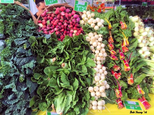 Some produce that you might find in  the Mobile Market.
