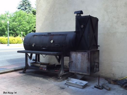 Smoking brisket  for 9 - 12 hours, and turkey.