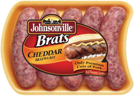 or the Johnsonville Cheddar Brat, or any of their brats.