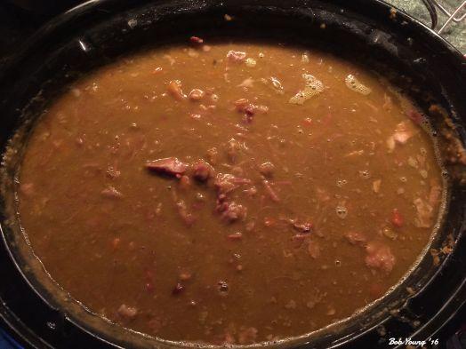 Split Pae and Ham Soup