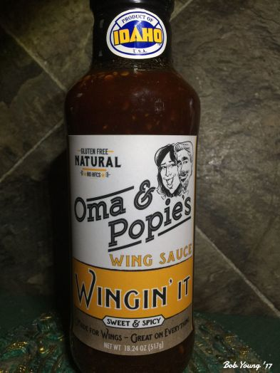 Oma and Popies Wing Sauce - Wingin It made in Kuna, Idaho