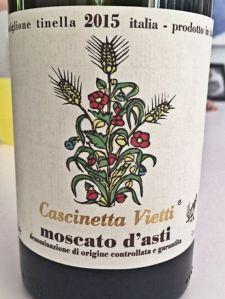 2015 Moscado d'Asti