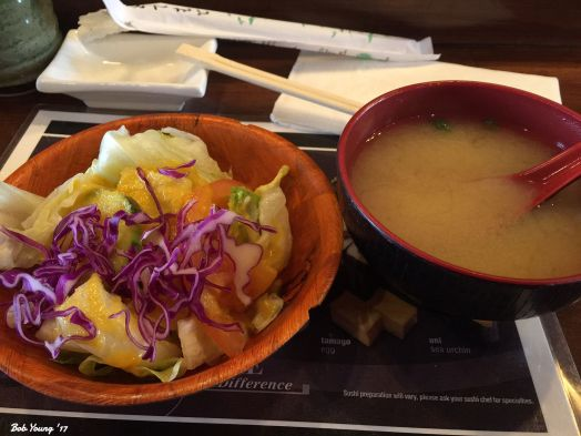 House Green Salad and Miso Soup